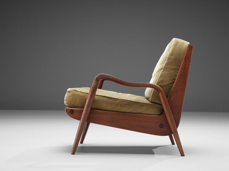 Mid-20th Century Phillip Lloyd Powell 'New Hope' Lounge Chair For Sale