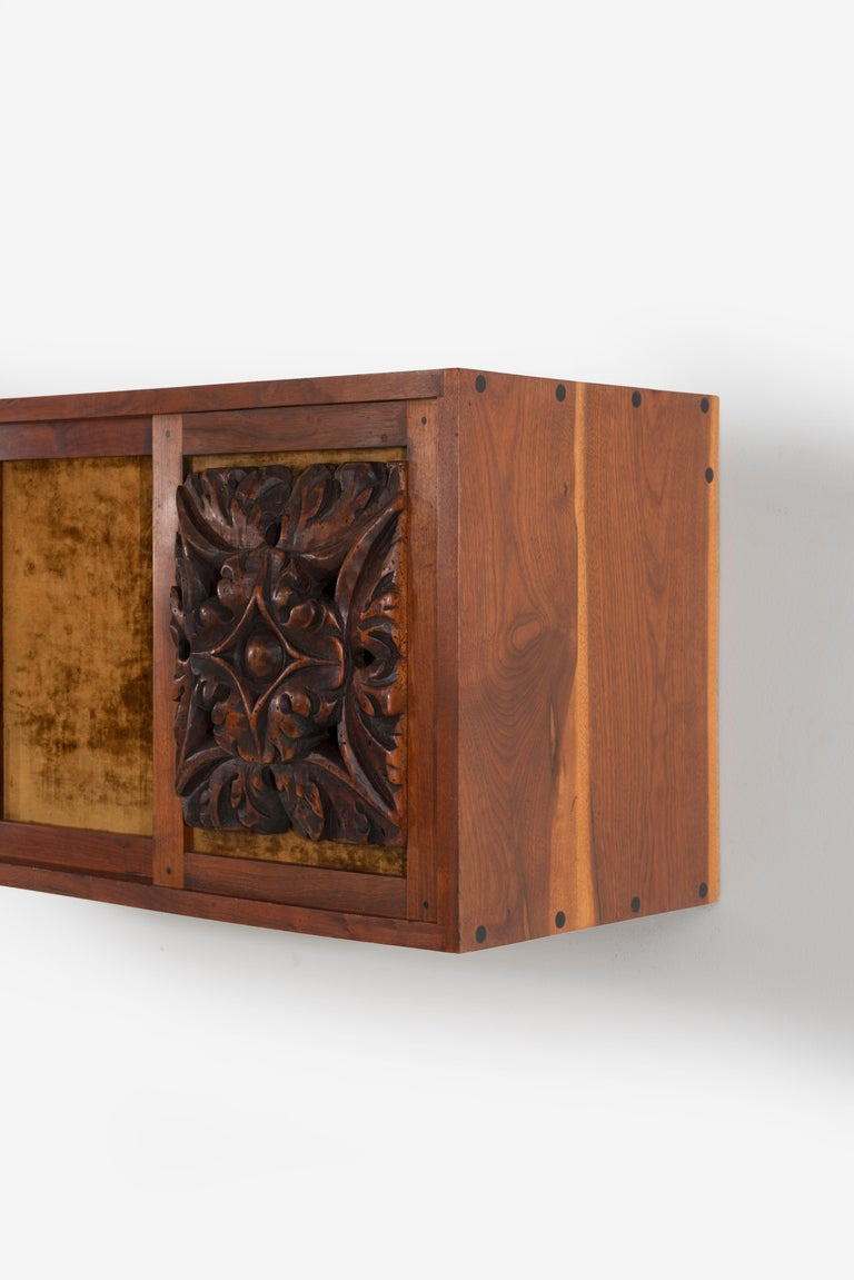 Phillip Lloyd Powell Wall Hanging Cabinet For Sale 4