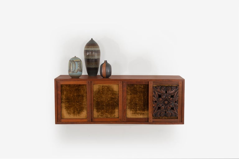 Phillip Lloyd Powell Wall Hanging Cabinet For Sale 6