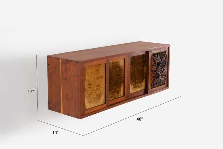 Phillip Lloyd Powell Wall Hanging Cabinet For Sale 7