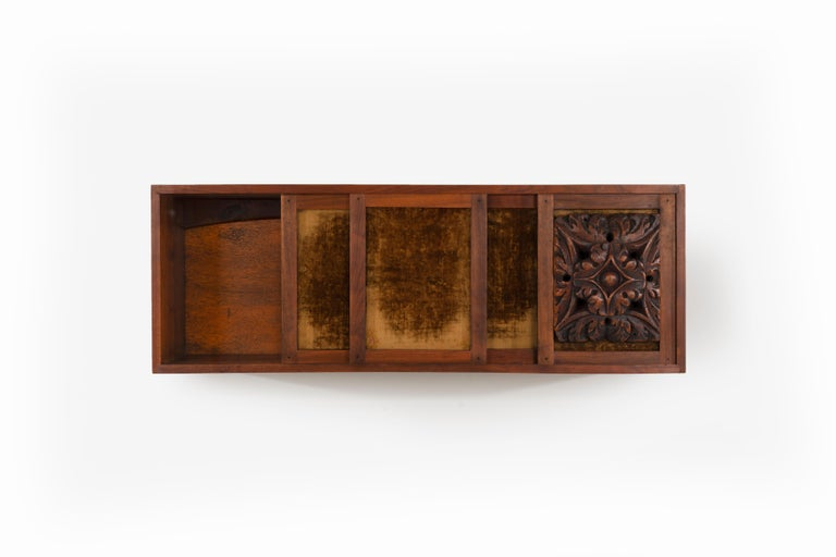 American Craftsman Phillip Lloyd Powell Wall Hanging Cabinet For Sale