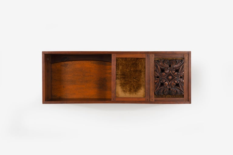 American Phillip Lloyd Powell Wall Hanging Cabinet For Sale