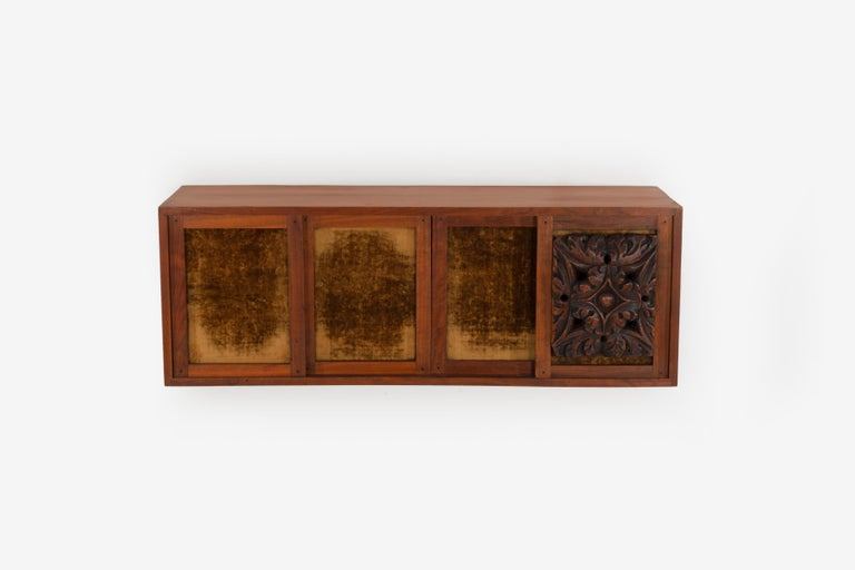 Mid-20th Century Phillip Lloyd Powell Wall Hanging Cabinet For Sale