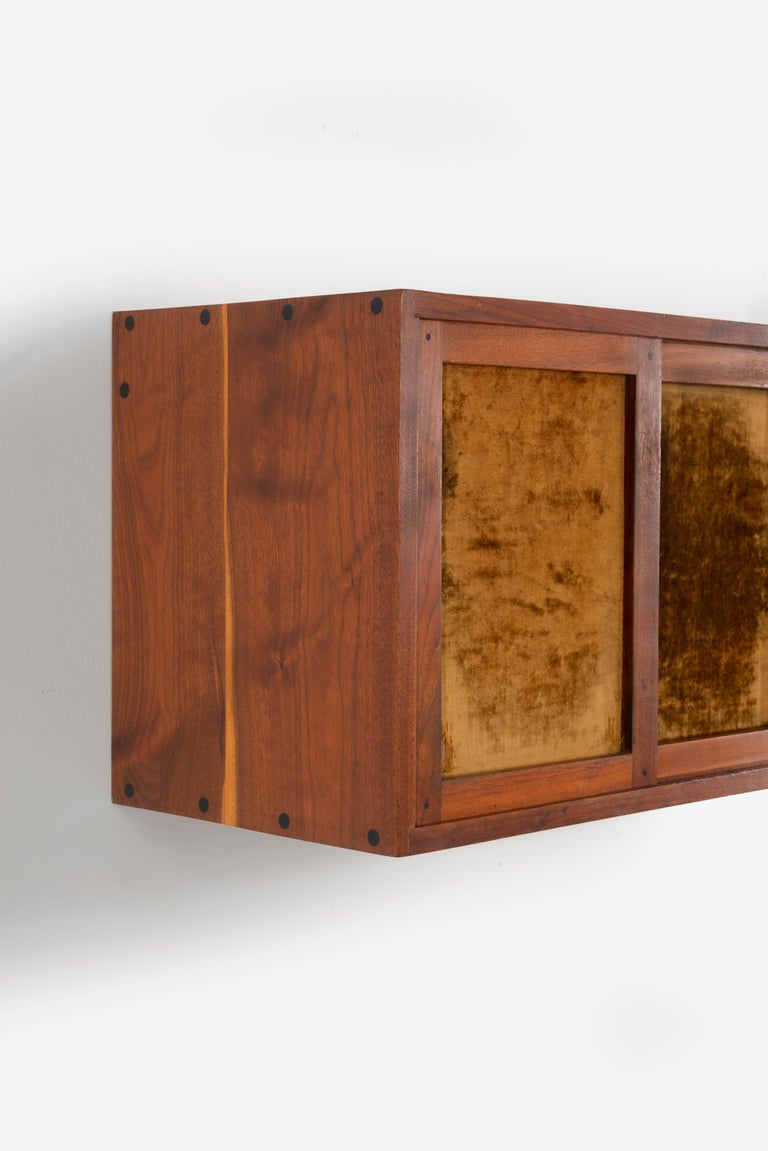 Phillip Lloyd Powell Wall Hanging Cabinet For Sale 1