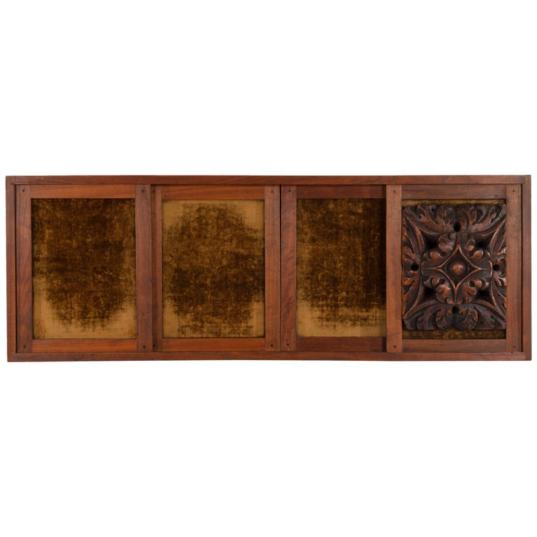 Phillip Lloyd Powell Wall Hanging Cabinet For Sale