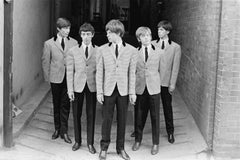 The Rolling Stones I - black and white photography