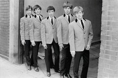 The Rolling Stones II - black and white photography