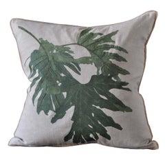 Philodendon Due Pillow