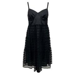 Philosophy by Alberta Ferretti Black Sleeveless Dress Size 44 IT