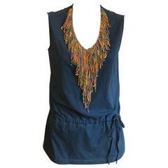 Philosophy Di Alberta Ferretti NWT Cotton Embellished Top (44 ITL)