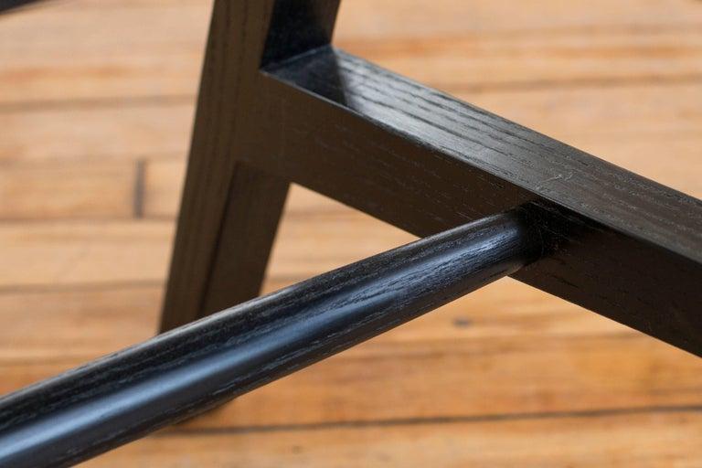 Phloem Studio Jess Side Chair, Modern White Oak Solid Wood Dining Chair For Sale 2