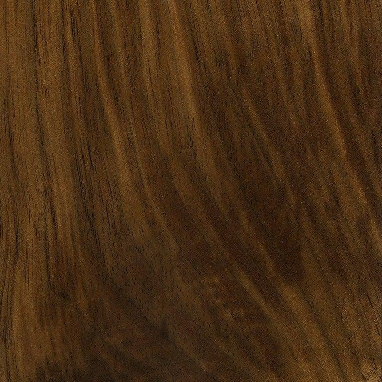 Phloem Studio Nadine Lounge Chair, Modern Walnut and Leather Strap Lounge For Sale 4