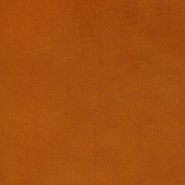 Phloem Studio Nadine Lounge Chair, Modern Walnut and Leather Strap Lounge For Sale 7
