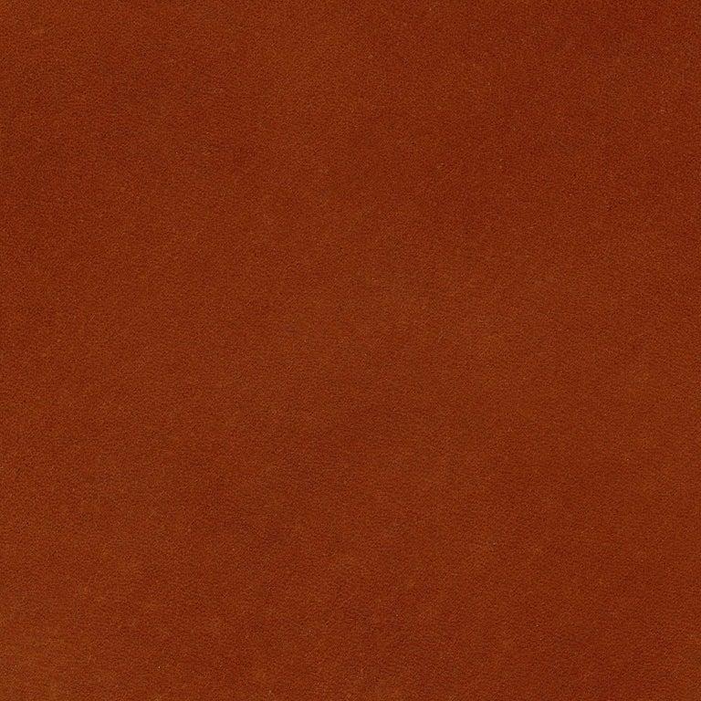 Phloem Studio Nadine Lounge Chair, Modern Walnut and Leather Strap Lounge For Sale 8