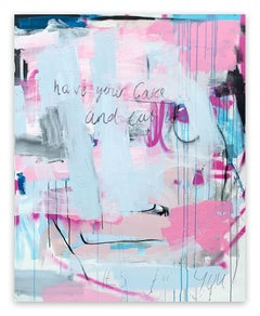 Have your cake and eat it (Abstract painting)