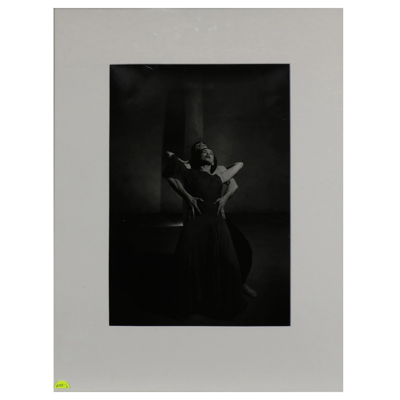 "Photograph by Philippe Halsman ""Martha Graham and Eric Hawkins"""