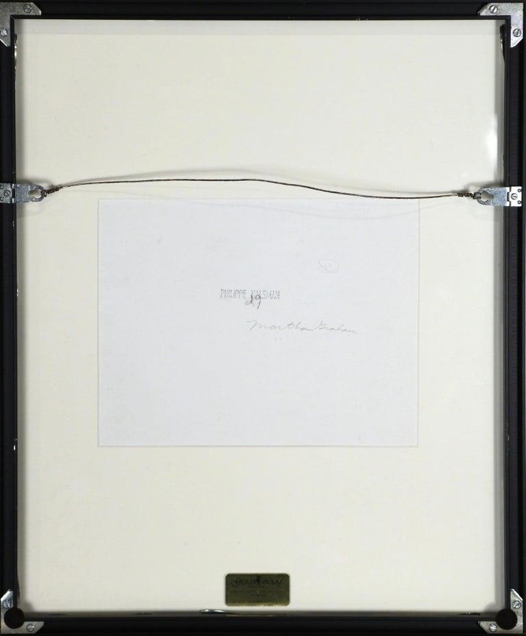 American Photograph Philippe Halsman of Martha Graham and Eric Hawkins For Sale