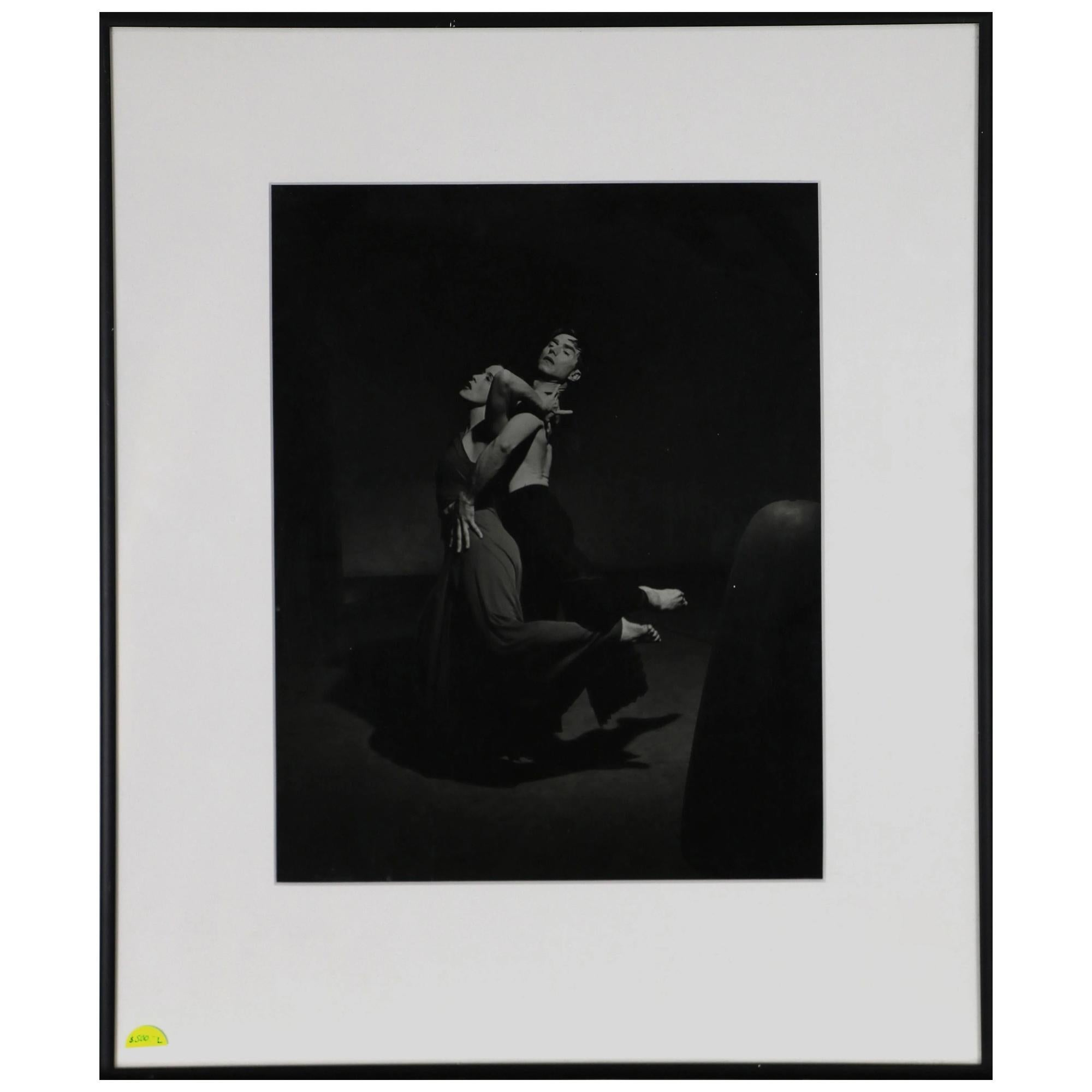 Photograph Philippe Halsman of Martha Graham and Eric Hawkins