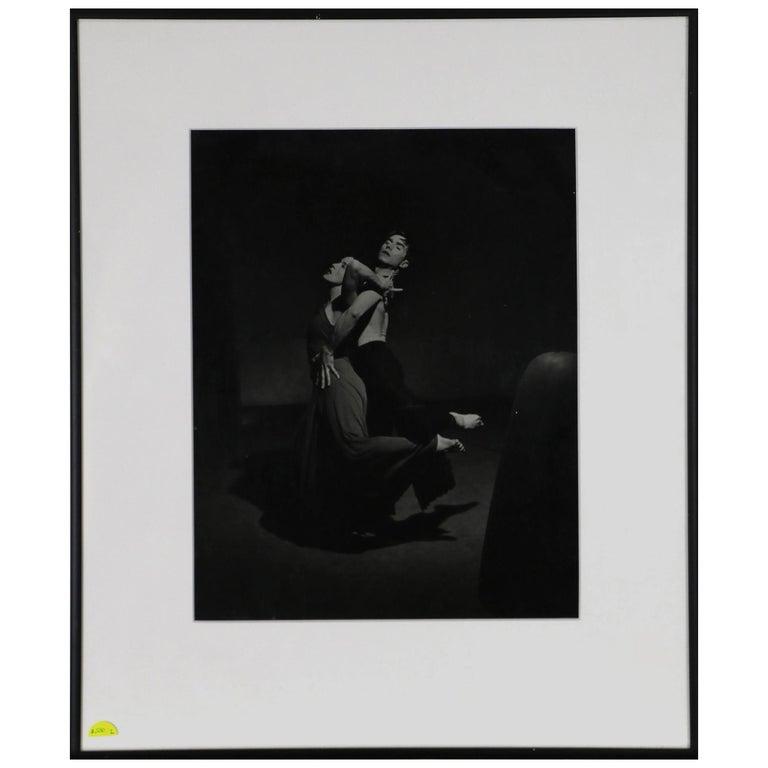 Photograph Philippe Halsman of Martha Graham and Eric Hawkins For Sale