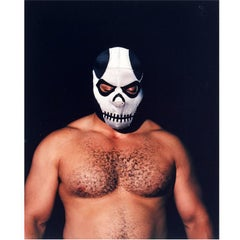 "Photography, Lucha Libre Wrestler ""The Plague"" by Thomas McGovern"