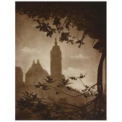 Photogravure, New York City by Adolf Fassbender, 1937