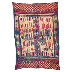 Phulkari Wedding Shawl from Punjab, India, Early 20th Century