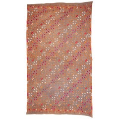 Phulkari Wedding Shawl from Punjab, India, Mid-20th Century