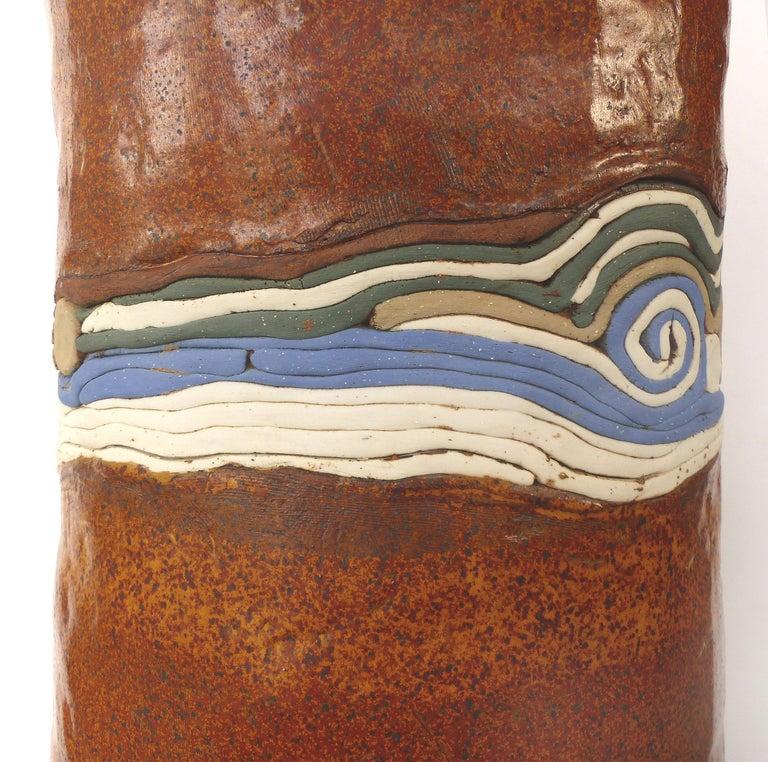 Glazed Phyllis Hammond 1970s Ceramic