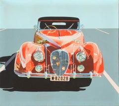 Delahaye, Classic Car Painting by Phyllis Krim
