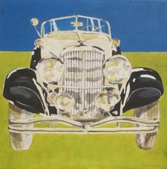 Duesenberg, Acrylic Painting by Phyllis Krim