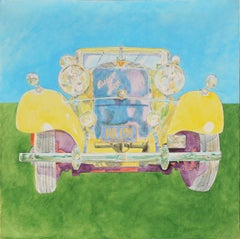 Hispano Suiza, Classic Car Painting by Phyllis Krim