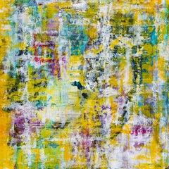 "Call me sometime  36"" x 36"", Painting, Acrylic on Wood Panel"