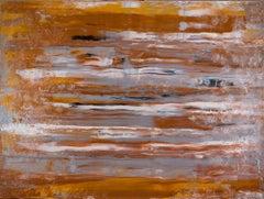 "Copper Sunday  48"" x 36"", Painting, Acrylic on Canvas"