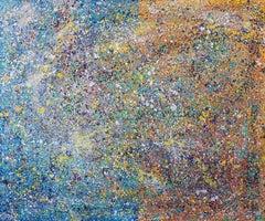 Iridescent  72' x 60', Painting, Acrylic on Canvas