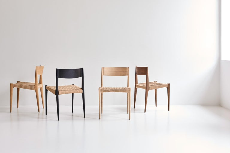 PIA Chair by Poul Codavius - Smoked Oak For Sale 5