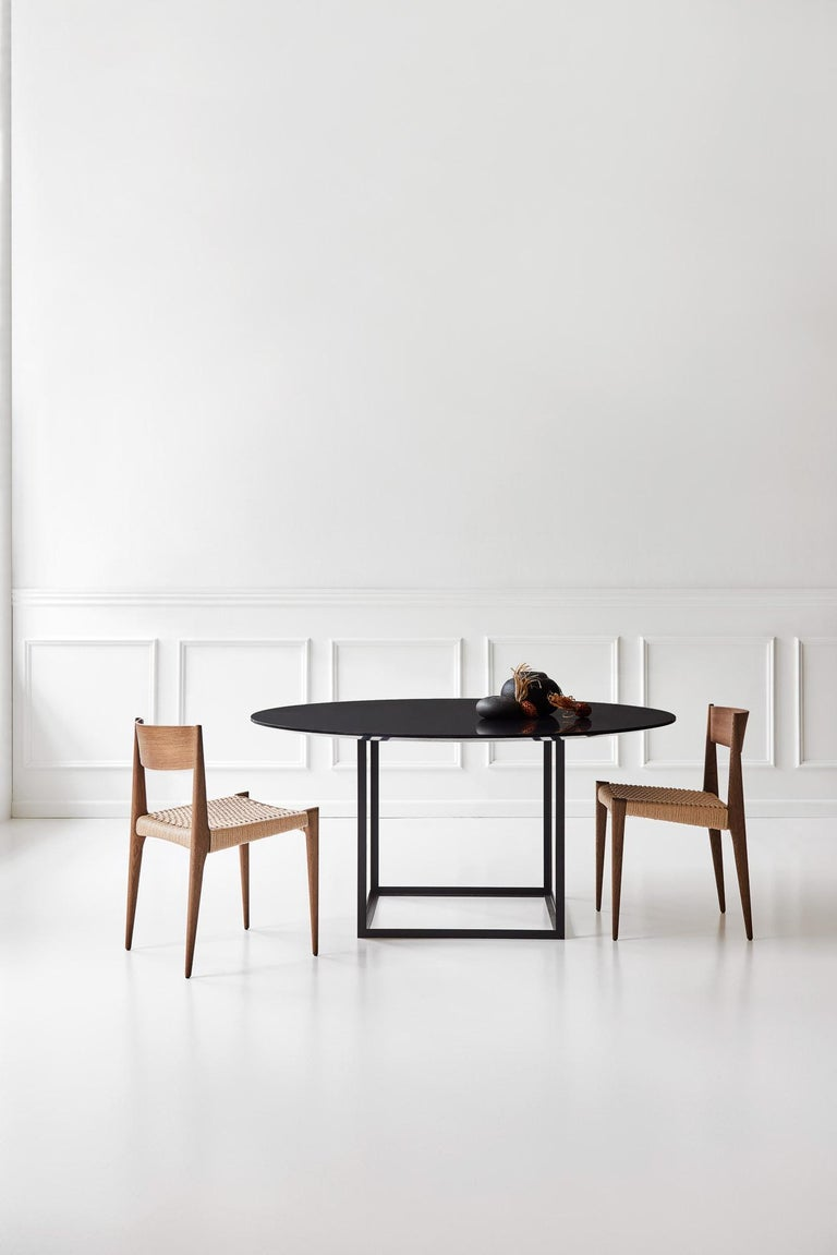 PIA Chair by Poul Codavius - Smoked Oak In New Condition For Sale In Paris, FR