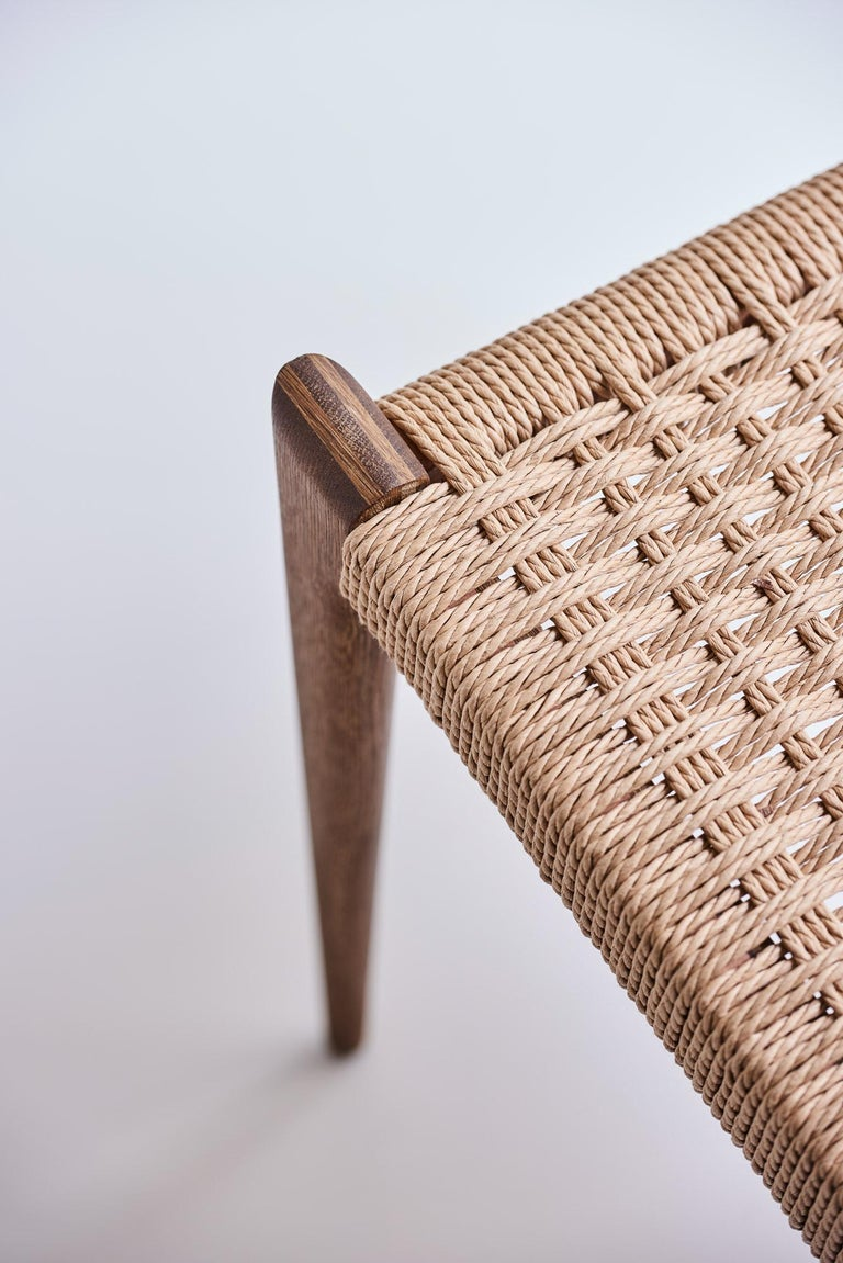 PIA Chair by Poul Codavius - Smoked Oak For Sale 3