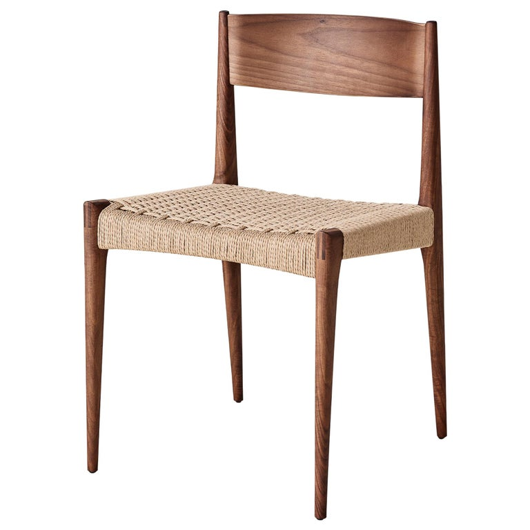 PIA Chair by Poul Codavius - Smoked Oak For Sale
