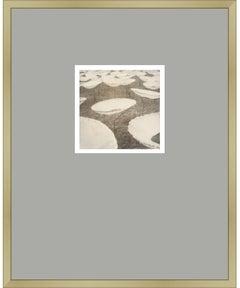 Take a Seat - Original Polaroid Photograph Framed Contemporary Landscape