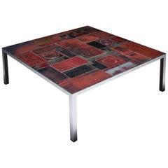 Pia Manu Ceramic Tile Coffee Table