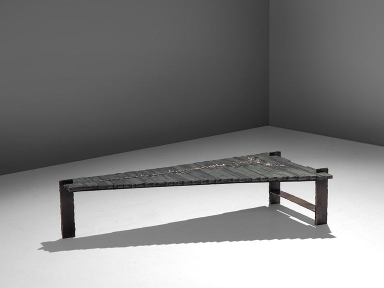 Iron Pia Manu Unique Coffee Table For Sale