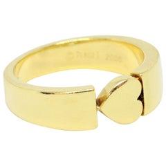 Piaget 18 Carat Yellow Gold Heart Ring