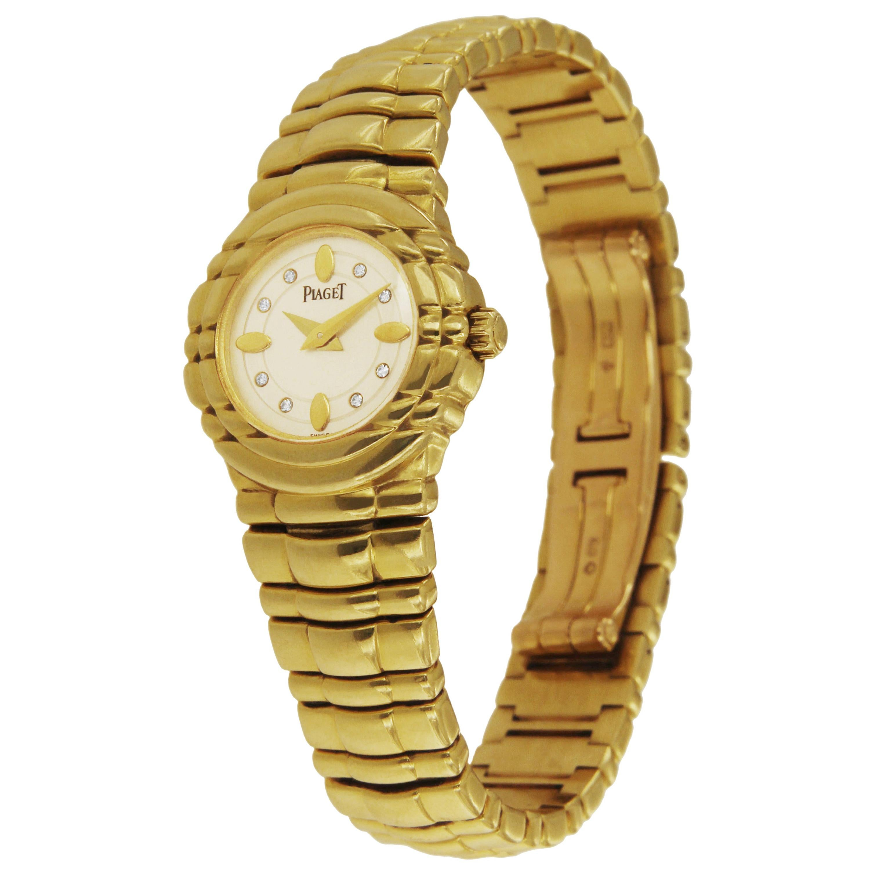 Piaget 18 Karat Gold Tanagra Watch