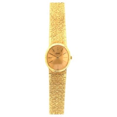 Piaget 18 Karat Gold Vintage Womens Watch