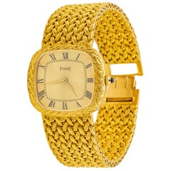 Piaget 18 Karat Gold Wristwatch
