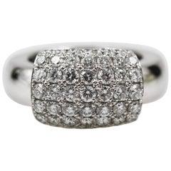 Piaget 18 Karat White Gold Diamond Ring