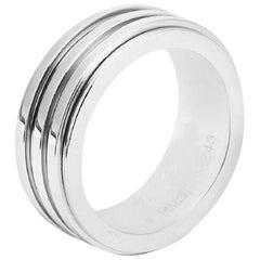 Piaget 18 Karat White Gold Movable Band Ring