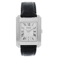 Piaget 18 Karat White Gold Protocole Men's Watch Ref. 26200