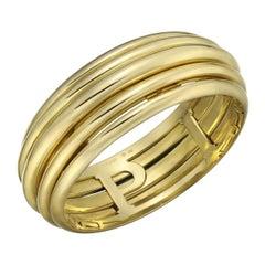 "Piaget 18 Karat Yellow Gold ""Possession"" Bangle Bracelet"