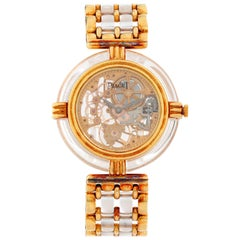 Piaget 18 Karat Yellow Gold Skeleton Watch